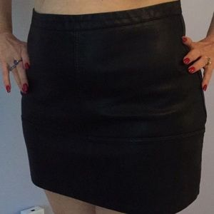 ASOS New Look Black leather look
